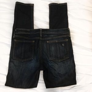 Rag + Bone Dark Blue Skinny Jeans Size 28